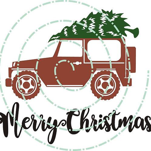 Christmas Jeep