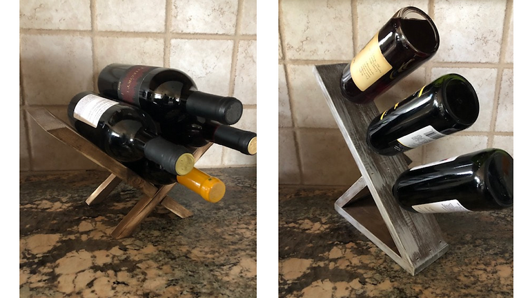 Workshop Wednesday - Wine Rack & Sign