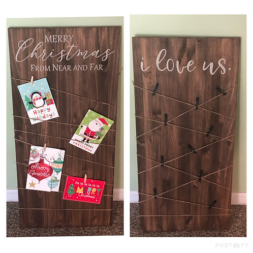 Photo/Card Reversible Board