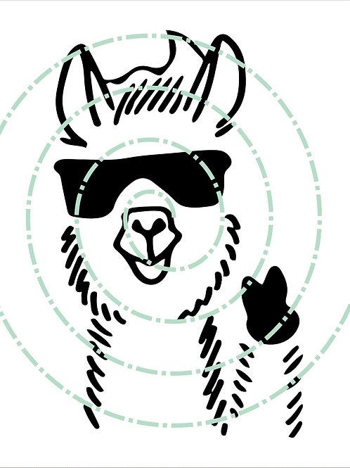 Llama Glasses