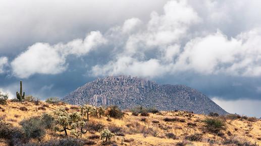 Storm Over Pinnacle Peak