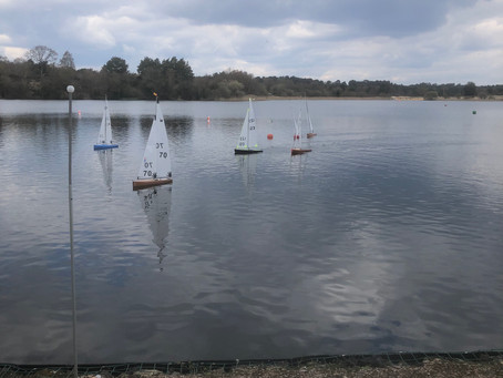 Thought for the Day - Race day at Frensham Pond