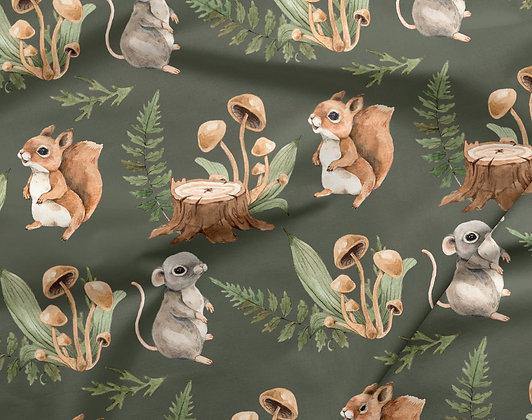 Sommersweat Eichhörnchen & Maus