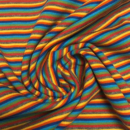 Bündchen Streifen Bunte Streifen
