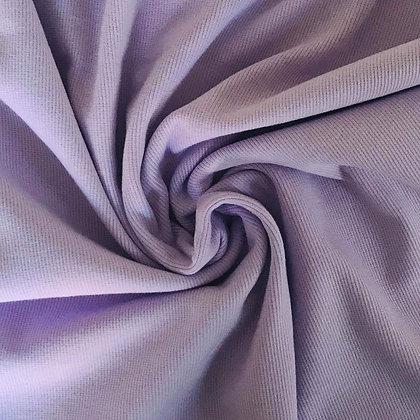 Feinrippbündchen Lavendel