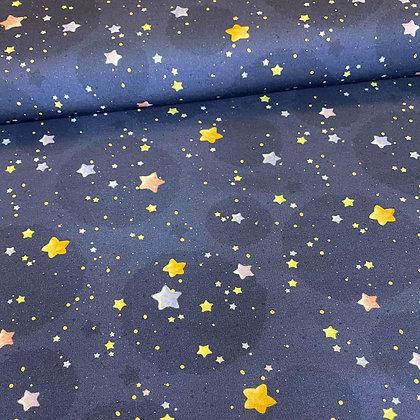 Sommersweat Kombi Faultier mit Sternen