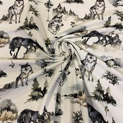 Reststück Sommersweat Wolfsmond