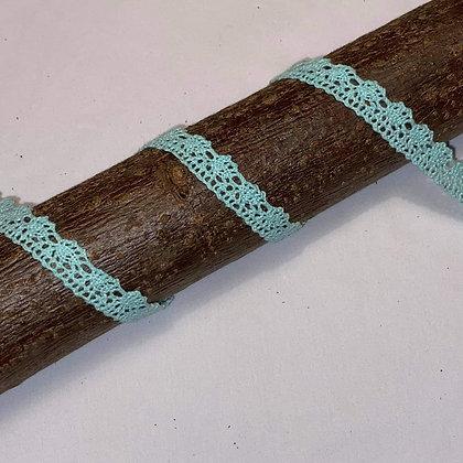 Spitzenband 15mm breit Mint