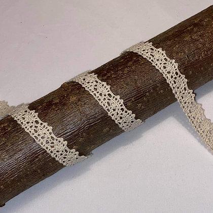 Spitzenband 15mm breit Ecru