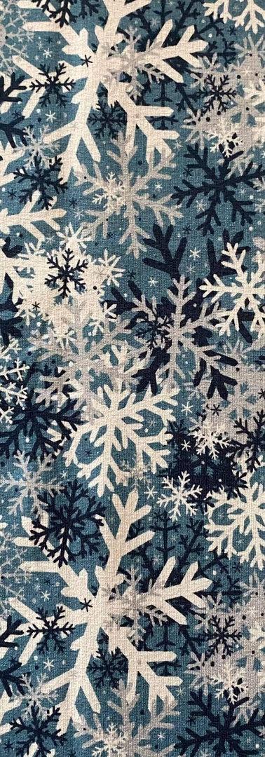 Sommersweat Snowflakes Blue