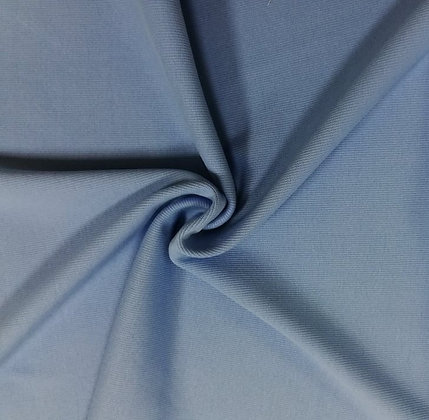 Feinrippbündchen Blau