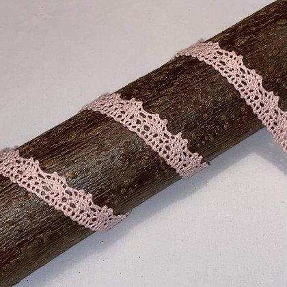 Spitzenband 15mm breit Hellrosa