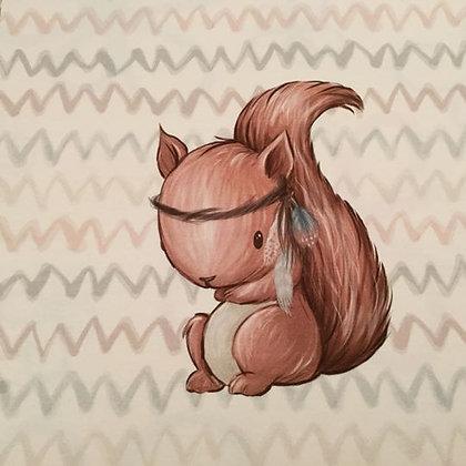 Jersey Panel Baumfreunde Eichhörnchen