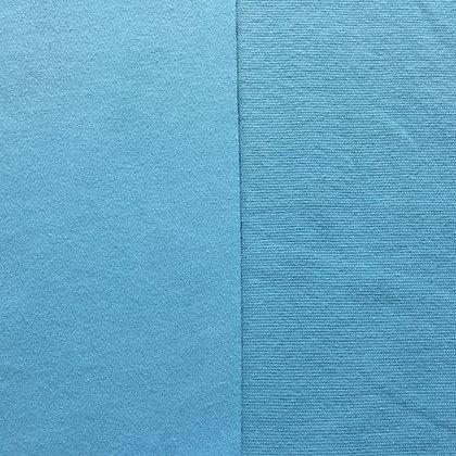 Sommer Feinstrickbündchen Babyblau
