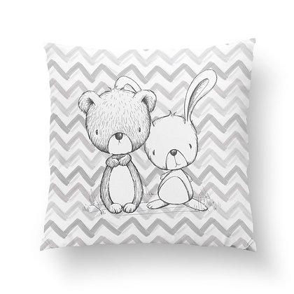 Panel Baumwollstoff/ Webware Babytiere