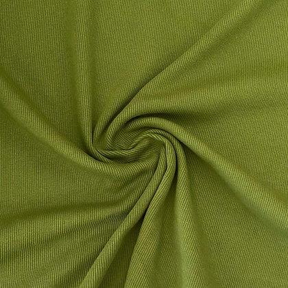 Feinrippbündchen Zederngrün