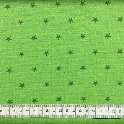 Bündchen Sterne Lime