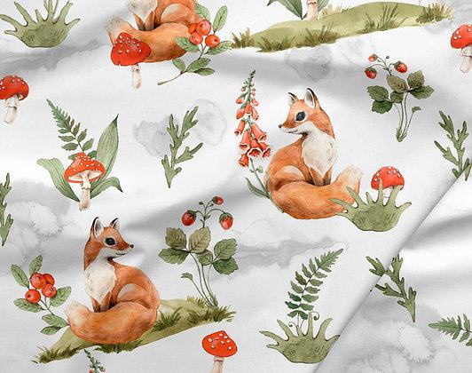 Sommersweat Fuchs im Herbst