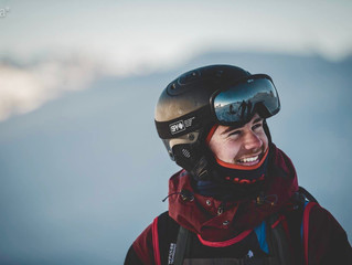 Hugo Cameron, NZ Junior Freeride Team member