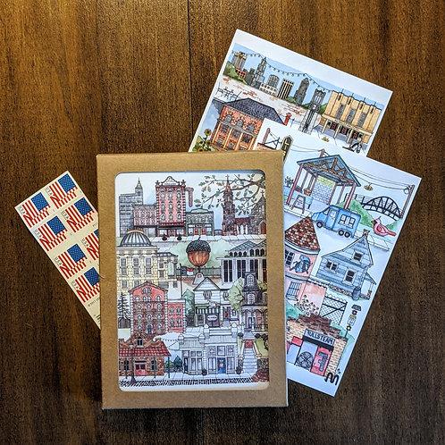 Mix + Match North Carolina Greeting Cards (5 pack)