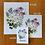 Thumbnail: Arkansas Flowers watercolor print