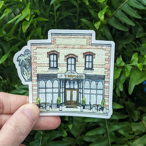Café Tropical Sticker