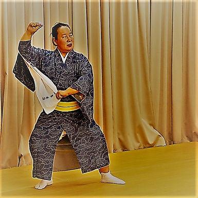 日本舞踊 英流