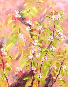 Orchard / 61x76cm