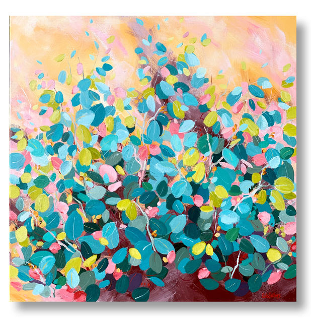 Jewels in Winter Sun / 61x61cm / $550