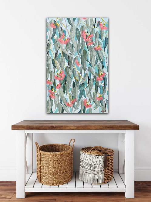 """""""Gum Leaves in the Afternoon""""       51cm x 76cm"""
