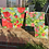 Thumbnail: Blooms on Apple Green (mini)   30cm x 30cm