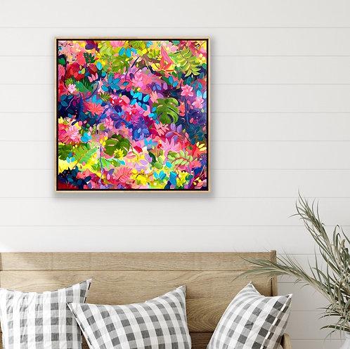 Colour My World  |  76 x 76 cm