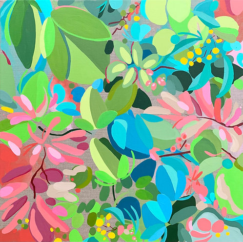 My Delicious Summer Garden     61 x 61cm