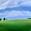 Thumbnail: Fresh Field I and II - 2 paintings - 30x30cm and 40x30cm