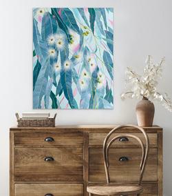 Flowering Gum / 61x76cm
