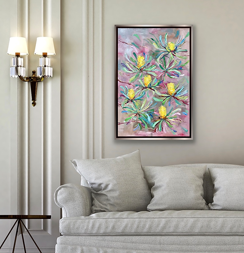 """Banksyblooms""   |   51cm x 76cm"