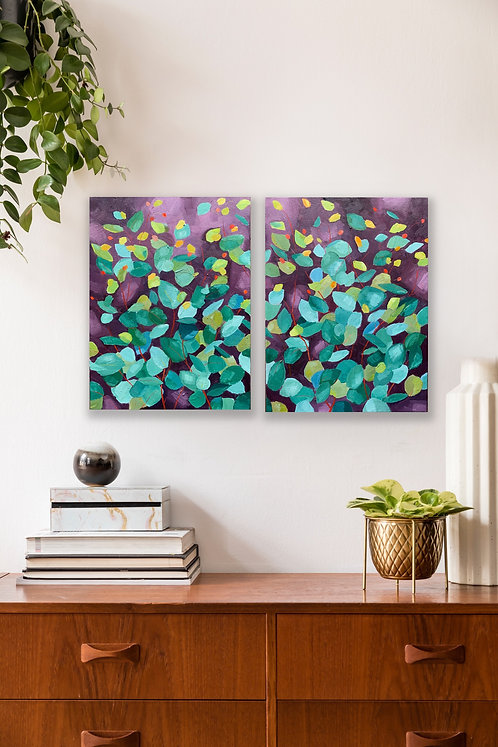 Twilight   |   Diptych (2 paintings)   |   60cm x 40cm