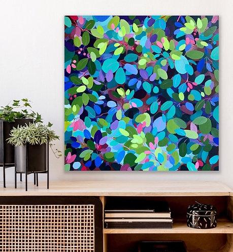 Jewels in the Garden  |  61 x 61cm