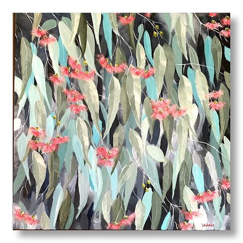"""Gum Leaves in the Park""   |   61cm x 61cm"