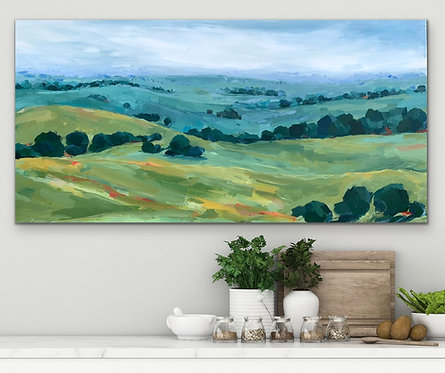 Countryside Along the Hume    122cm x 61cm