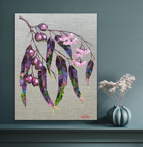 Beautiful Gum Leaves | 35cm x 45cm