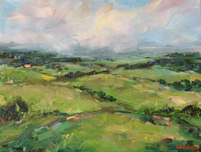 Greener Pasture / 40x30cm
