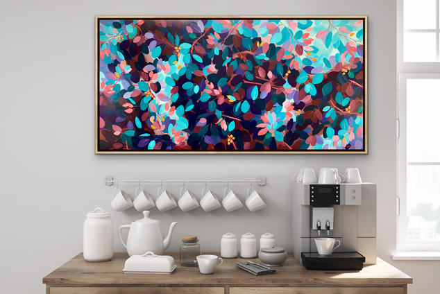 Lovely Lazy Afternoons / 122x61cm / $680