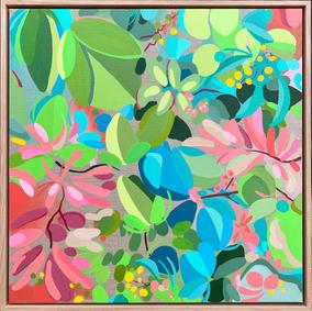 My Delicious Summer Garden / 60x60cm
