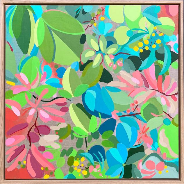 My Delicious Summer Garden / 60x60cm / $530