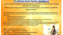 28 Day Body Reset