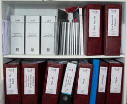 Fabric Sample Folders