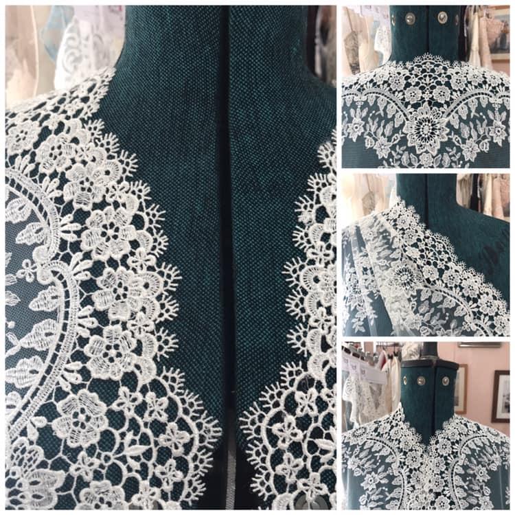 Lace Neckline Variations