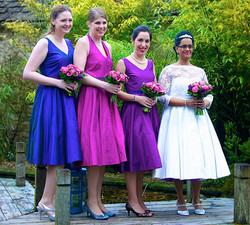 Bea and Bridesmaids