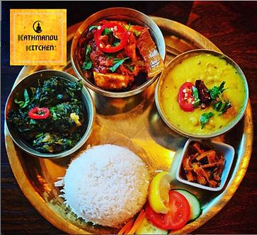 Vegan Menu Kathmandu Kitchen Altrincham